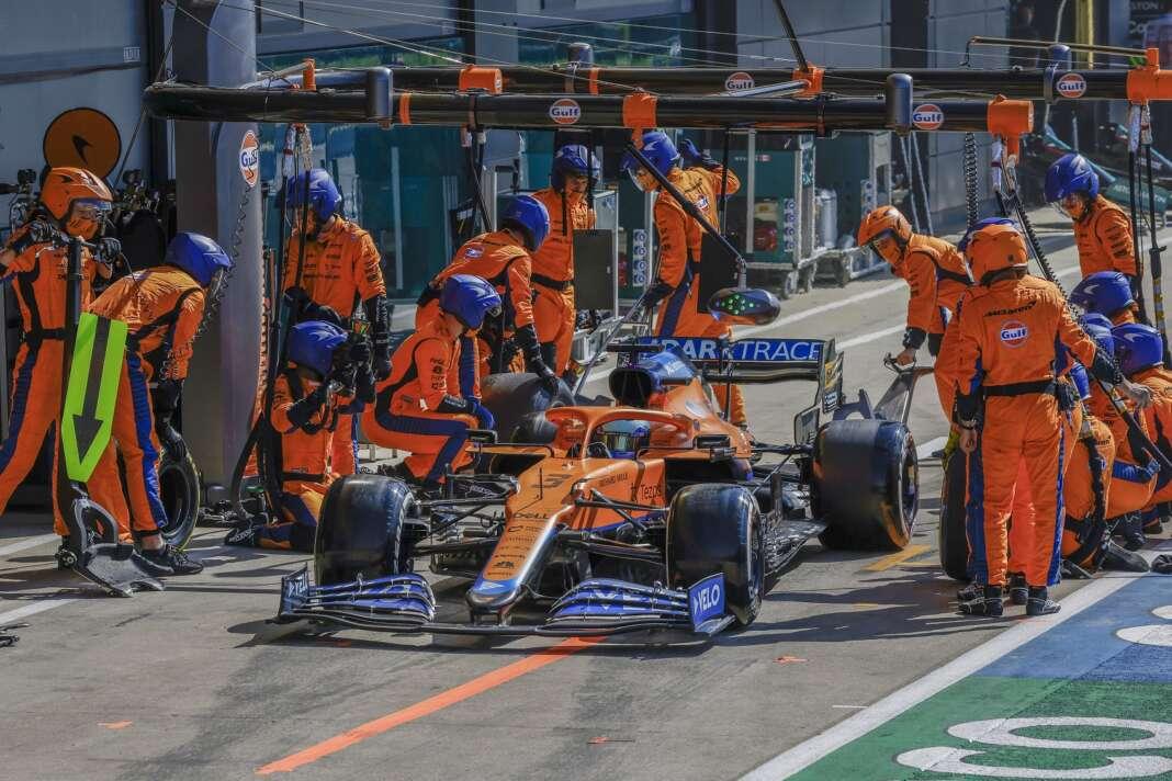 Daniel Ricciardo, McLaren, kerékcserék, F1