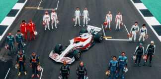 2022 F1 Car plus Grid, Brit Nagydíj, Silverstone
