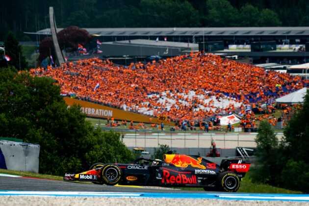 Max Verstappen, hollandok, rajongók, fans, zandvoort