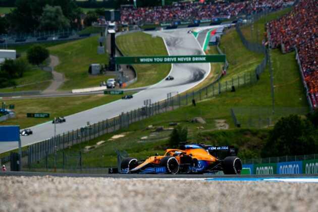 Daniel Ricciardo, Ausztria
