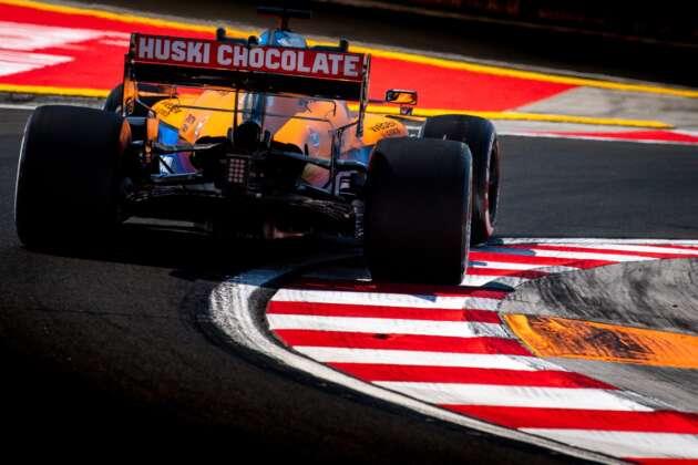 McLaren, kerbs