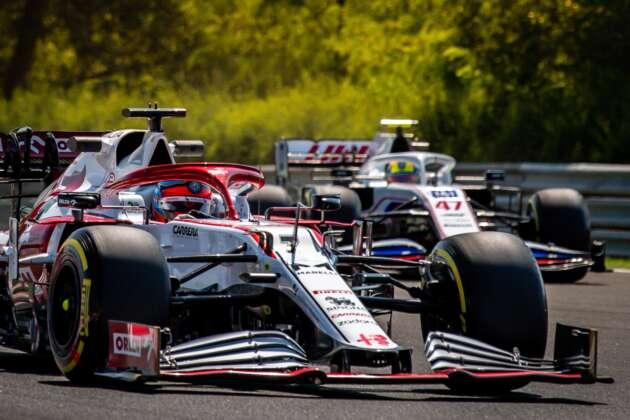 Kimi Räikkönen, Mick Schumacher, magyar nagydíj