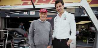 Niki Lauda, Toto Wolff, Mercedes