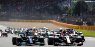 Max Verstappen, Lewis Hamilton, Brit Nagydíj, sprintkvalifikáció