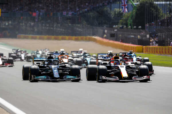 Max Verstappen, Lewis Hamilton, Brit Nagydíj