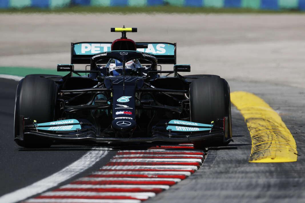 Valtteri Bottas, racingline