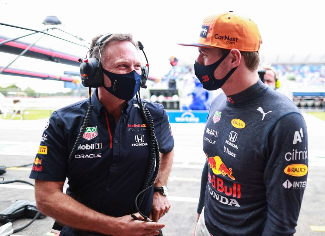 Christian Horner, Max Verstappen, Red Bull