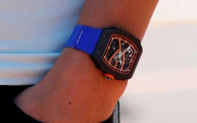 Lando Norris' Richard Mille watch