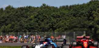 Georger Russell, Carlos Sainz, Williams, Ferrari