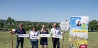 Hungaroring méhlegelő, BioBienenApfel