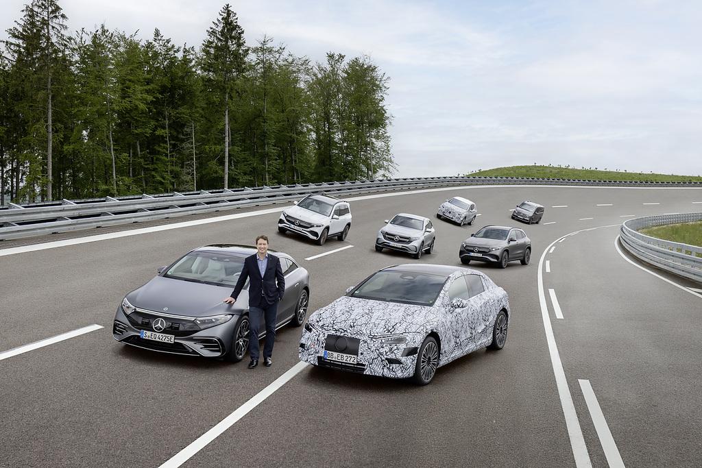 Mercedes, Daimler, elektromos