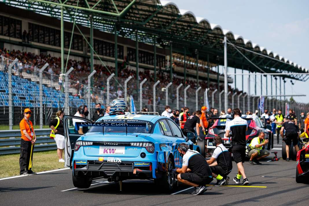 Santiago Urrutia, Lync & Co, Hungaroring, WTCR, racingline.hu