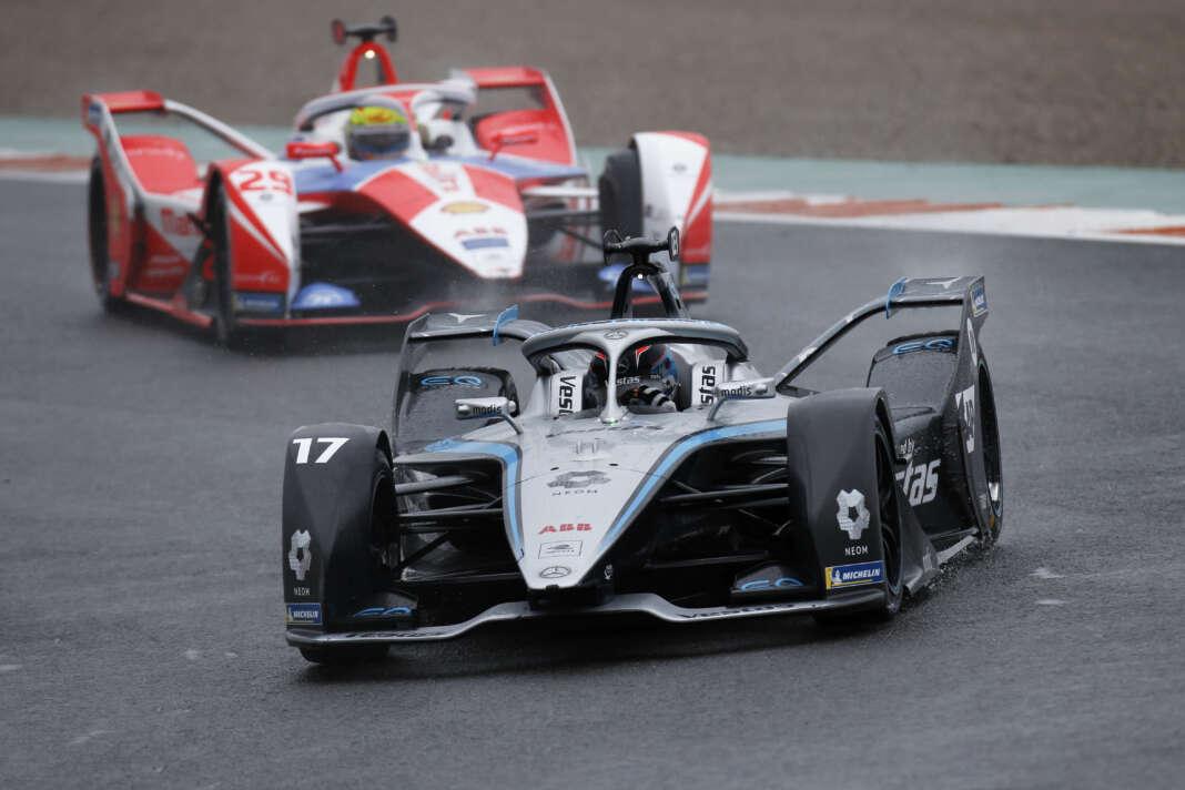 Nyck de Vries, Mercedes, racingline