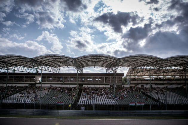 Hungaroring, fans, rajongók, tribün