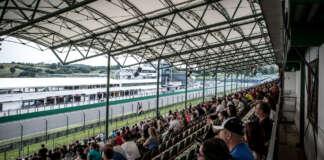 Hungaroring, tribün, fans, rajongók, f1