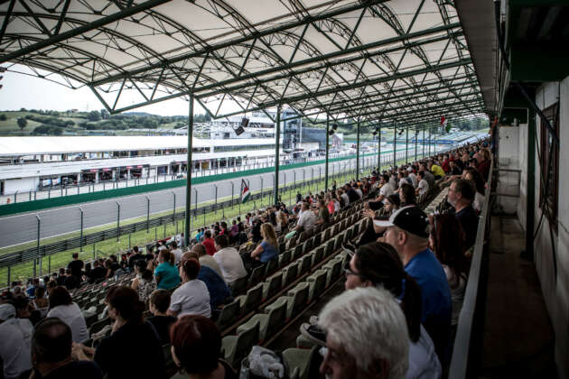 Hungaroring, tribün, fans, rajongók