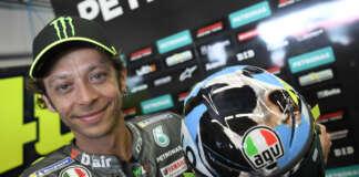 Rossi, racingline