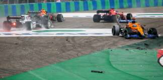 F1, crash, Verstappen, Norris, Leclerc