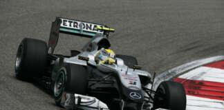 Rosberg, racingline