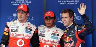 Lewis Hamilton; Sebastian Vettel; Jenson Button