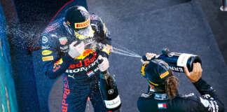 Lewis Hamilton, Max Verstappen, racingline