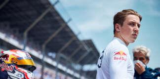 Liam Lawson, Red Bull
