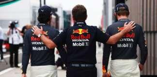Christian Horner, Max Verstappen, Sergio Perez, red bull