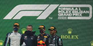 George Russell, Max Verstappen, Lewis Hamilton, Williams, Red Bull, Mercedes
