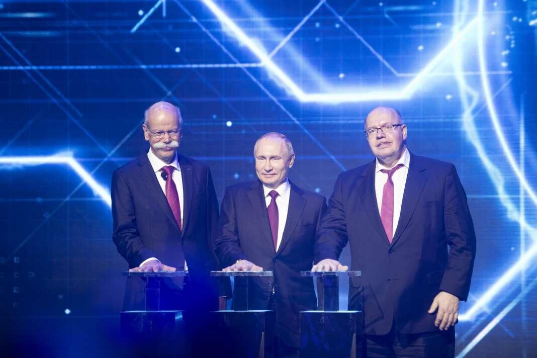 vlagyimir putyin, Dieter Zetsche, Peter Altmaier