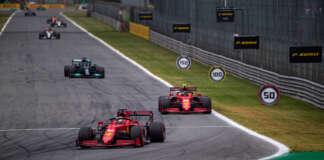 Forma-1, racingline