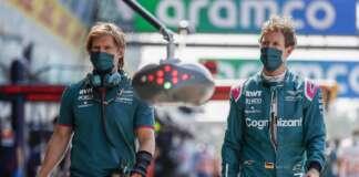 Sebastian Vettel, Antti Kontsas, Aston Martin