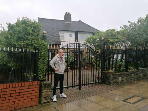 Graham Hill Home