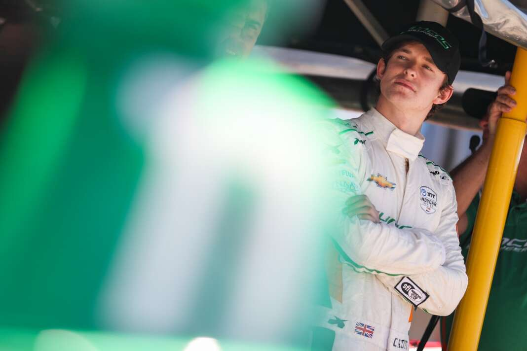 Callum Ilott, Juncos Hollinger Racing, IndyCar, racingline.hu