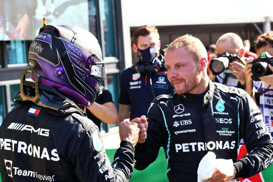 Lewis Hamilton, Valtteri Bottas, racingline