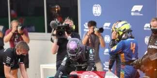Lewis Hamilton, Lando Norris, Mercedes, McLaren