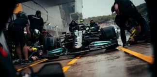 Mercedes, harmadik szabadedzés