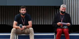Mark Webber, David Coulthard
