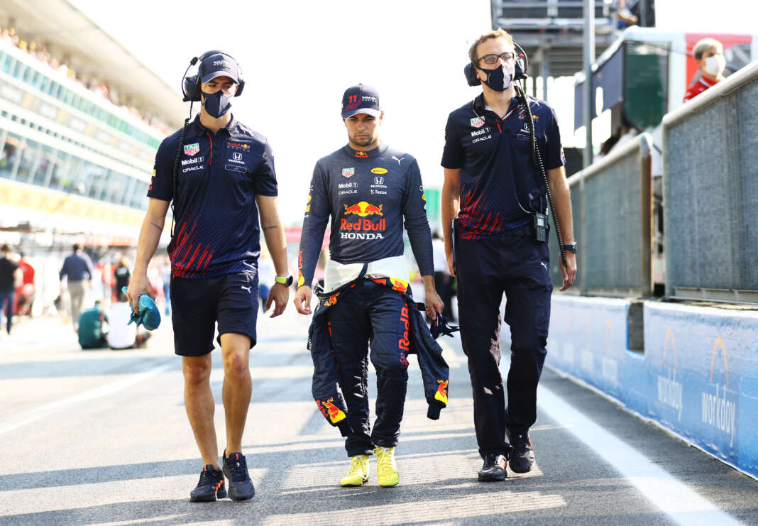 Sergio Perez, racingline