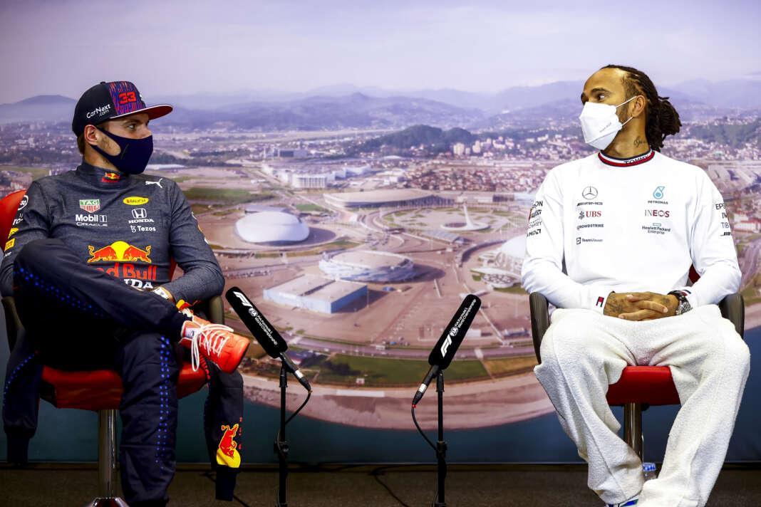 Max Verstappen, Lewis Hamilton, bajnoki