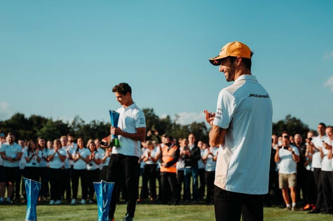 Lando Norris, Daniel Ricciardo, McLaren, MTC