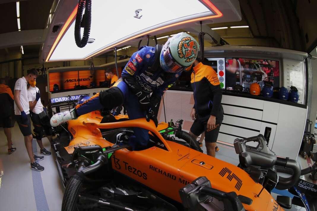 Daniel Ricciardo, kesztyű, F1