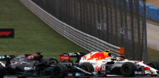 Lewis Hamilton, Sergio Pérez