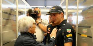 Max Verstappen Bernie Ecclestone, racingline.hu