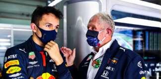 Alex Albon, Helmut Marko, Red Bull