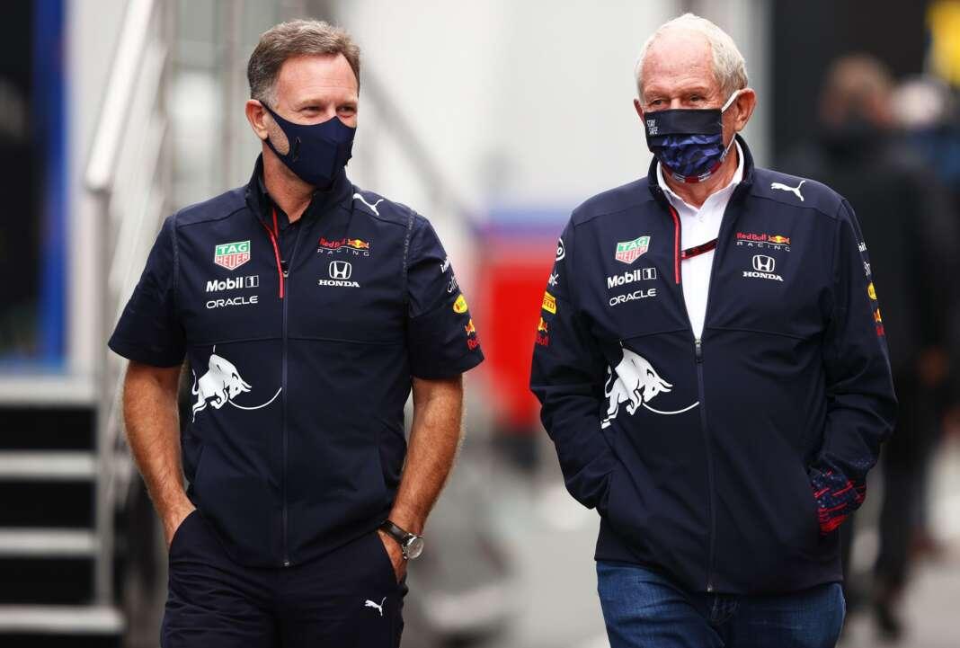 Christian Horner, Helmut Marko, Red Bull