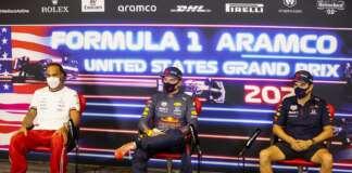 Lewis Hamilton, Max Verstappen, Sergio Pérez, Mercedes, Red Bull