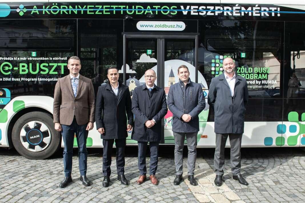 Steiner Attila, Ovádi Péter, Porga Gyula, Weingartner Balázs, Hoyos György, HUMDA, Zöld Busz